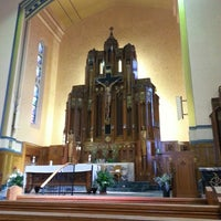 Photo taken at Queen of Angels Parish by Lizelle M. on 9/22/2013