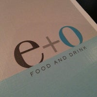 Photo taken at E+O Food And Drink by Lizelle M. on 7/3/2013