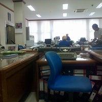 Photo taken at BRI Cabang Lamongan by Hanifian T. on 11/22/2012