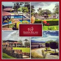 Photo taken at Hacienda Real 1800 by Oscar F. on 11/19/2013