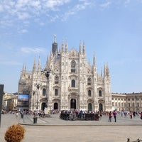Photo taken at Piazza del Duomo by Julia on 7/2/2013