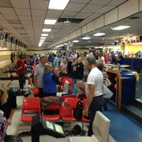 Photo taken at AMF Gulf Gate Lanes by Joe M. on 11/7/2013