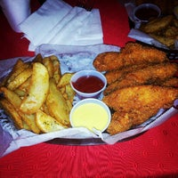 Photo taken at Baskets (Chicken Fingers) by Moe O. on 12/27/2012