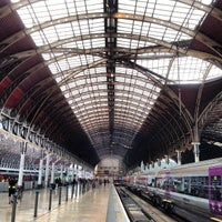 Photo taken at London Paddington Railway Station (PAD) by Jimmy L. on 6/20/2013