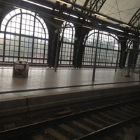 Photo taken at Dresden Hauptbahnhof by Fabrizio M. on 10/4/2012