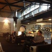 Photo taken at SWISS Business Lounge A by Fabrizio M. on 10/6/2012