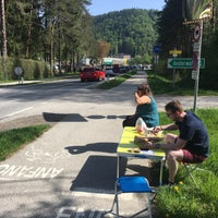 Photo taken at Strandcamping Arneitz by Anton Š. on 4/29/2018