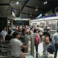 Photo taken at Metro Quilín by Edo. on 11/5/2012