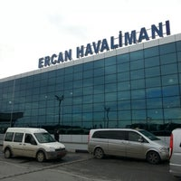 Photo taken at Ercan Airport (ECN) by Ceyhun D. on 12/7/2012