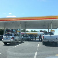 Photo taken at Shell by Tracy W. on 6/10/2013