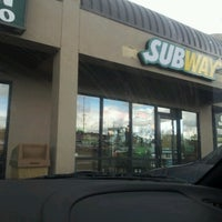 Photo taken at Subway by Tracy W. on 10/24/2012