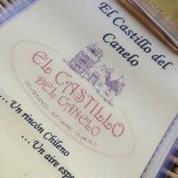 Photo taken at Castillo del Canelo by Diego E. on 8/15/2013
