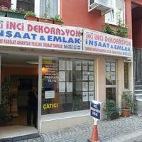 Photo taken at inci emlak uskudar by Cem K. on 11/12/2012