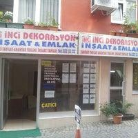 Photo taken at inci emlak uskudar by Cem K. on 10/24/2013