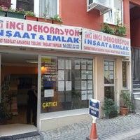 Photo taken at inci emlak uskudar by Cem K. on 11/5/2012