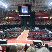 Photo taken at TTU - United Supermarkets Arena by Garrett B. on 5/18/2013