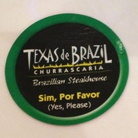Photo taken at Texas de Brazil by Peyton M. on 10/13/2012