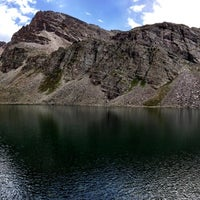 Photo taken at Cathedral Lake by Alex S. on 8/14/2013