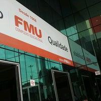 Photo taken at FMU - Campus Liberdade by Rodrigo P. on 1/13/2013