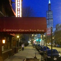 Photo taken at Carmichael's Chicago Steak House by Russ on 3/20/2013