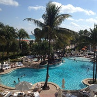 Photo taken at Loews Miami Beach Hotel by Laura W. on 1/27/2013