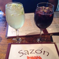 Photo taken at Sazón - Peruvian Cuisine by Liane B. on 4/4/2015