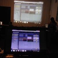 Photo taken at Scratch DJ Academy by somejerk on 4/12/2014