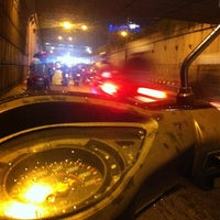 Photo taken at Underpass Pasar Minggu by Catur Juli H. on 11/15/2013