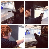 Photo taken at Ultimate Defense Firing Range & Training Center by Victoria P. on 10/20/2013