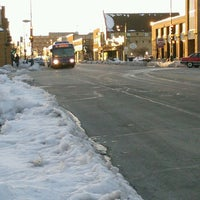 Photo taken at MCTS Bus Stop / Route 56 by Clarence S. on 3/3/2013