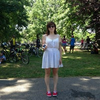 Photo taken at Juniper Valley Park Playground by *Bitch Cakes* on 7/7/2013