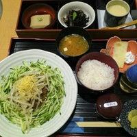 Photo taken at かっぽう家 ぶしん by Hi N. on 9/28/2012