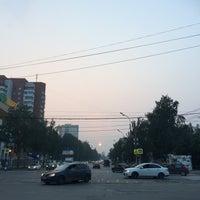 Photo taken at Остановка «Буревестник» by Евгения Щ. on 7/22/2016