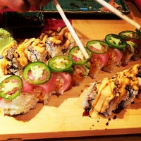 Photo taken at Kobe Japanese Steakhouse and Sushi Bar by Tee L. on 7/4/2013