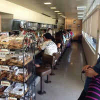Photo taken at Liliha Bakery by Gregory on 12/28/2012