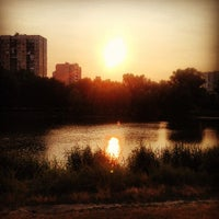 Photo taken at Озеро «Райдужне» by Andrey on 7/10/2013