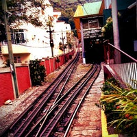Photo taken at Trem do Corcovado by Samira D. on 5/16/2013