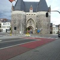 Photo taken at Brusselsepoort by Ronald V. on 9/25/2012