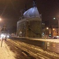 Photo taken at Brusselsepoort by Ronald V. on 1/21/2013