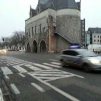 Photo taken at Brusselsepoort by Ronald V. on 2/27/2013
