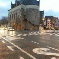 Photo taken at Brusselsepoort by Ronald V. on 12/17/2012
