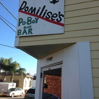 Photo taken at Domilise's Po-Boys by Stephen L. on 1/18/2013