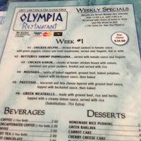 Olympia Restaurant Vineland Nj Menu