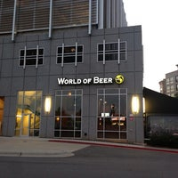 Photo taken at World of Beer by Ayrton R. on 7/26/2013