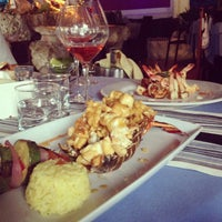Photo taken at Blue Lobster by ApostolovA on 5/4/2013