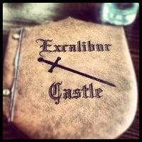 Photo taken at Excalibur Castle by Nikos T. on 10/2/2012