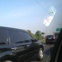 Photo taken at Gerbang Tol Pasar Rebo by Apriliani Q. on 8/21/2013