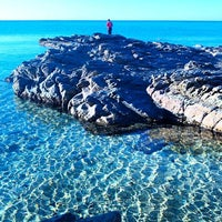 Photo taken at Spiaggia di Pistis by Elena M. on 12/28/2015