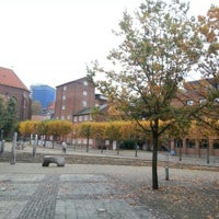 Photo taken at Downtown Kolding by Niels F. on 10/21/2012
