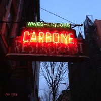 Photo taken at Carbone by Helen L. on 3/15/2013